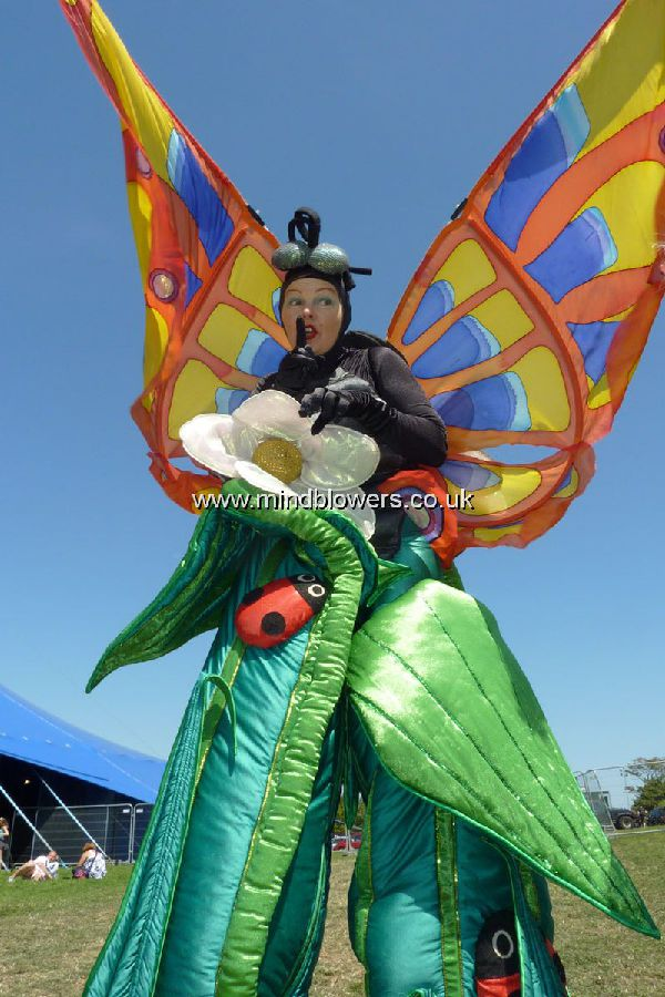 Butterfly Stilt Walker