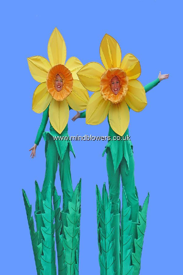 Daffodil Stilt Walkers