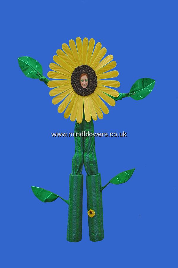 Sunflower Stilt Walker